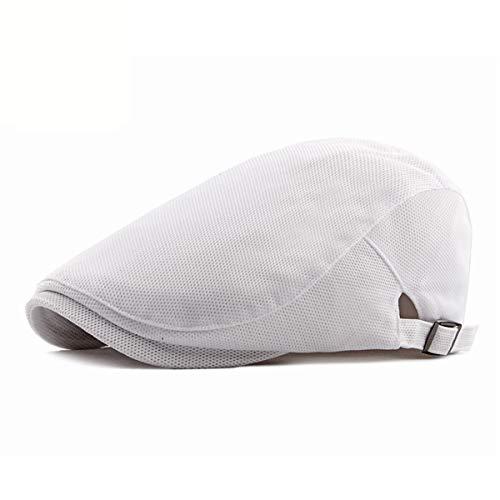 Sombrero Color Sombreros Casual E Hombres hat Gorra de de Boina Transpirable Gorro Delantero qin de GLLH Malla sólido para B SqwFC6n
