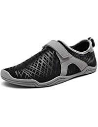 Men's New Light Weight Comfort Sole Easy Walking Athletic Slip On Water shoes