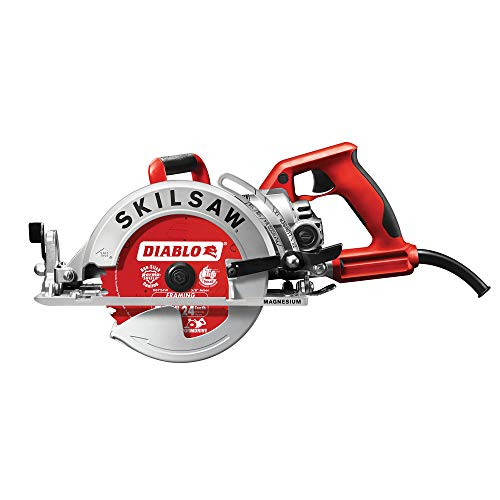 Skilsaw Magnesium Lightweight Worm Drive Circular Saw - 7 1/4in. 15 Amp, Model Number SPT77WML-22 (Saw Drive Worm Circular)