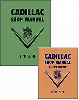 1950 cadillac wiring schematic 1950 cadillac repair shop manual reprint cadillac gm amazon com  1950 cadillac repair shop manual