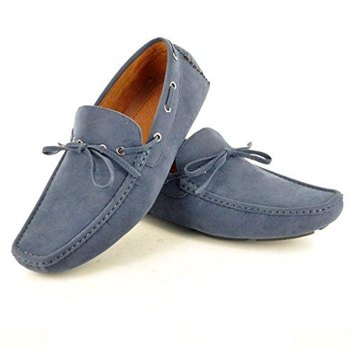 My Perfect Pair - Zapato para hombre de color negro de talla uk tamaño 10 /eu tamaño 44 azul