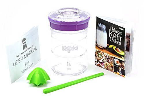 KEFIRKO - Homemade milk and water kefir system, as seen on Kickstarter by Kefirko
