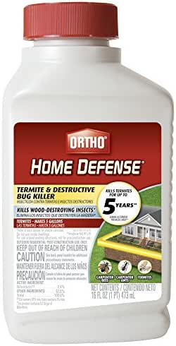 Ortho Home Defense Termite & Destructive Bug Killer Not available in MA, NY, or RI.