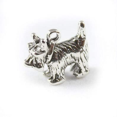9a9d0a29d Sterling Silver Scottie Dog Charm: Amazon.co.uk: Jewellery