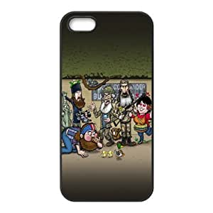 Custom Your Own Duck Dynasty Back Case for iphone 5,5S JN5S-2102
