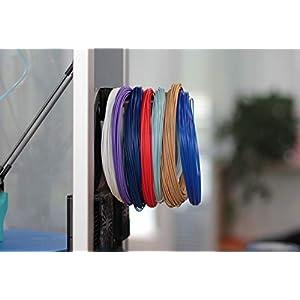 Polymaker smaple box 1 3d printer filament samples, 1.75mm filament, polylite pla,polylite petg, polymax pla, polymax petg, polyflex tpu95, polywood, polysmooth, random colors, 7×50g …