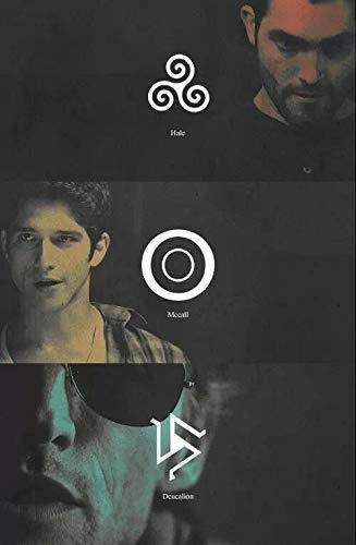 Pulsera con abalorios de Teen Wolf; abalorios de símbolos druidas ...