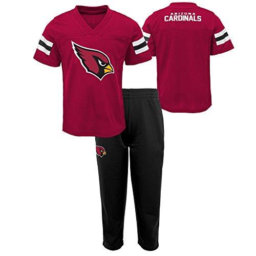 Outerstuff NFL NFL Arizona Cardinals Toddler Training Camp Short Sleeve Top & Pant Set Cardinal, -