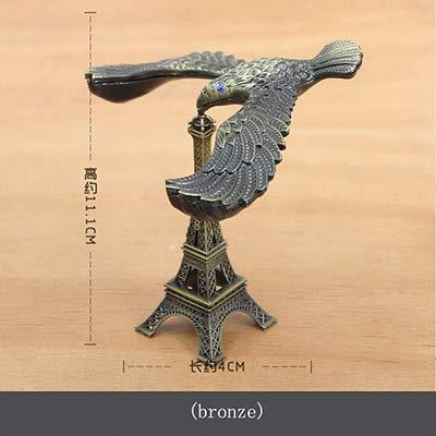 Ochoos クリエイティブバランスイーグル 重力鳥オーナメント エキゾチックなレリーフおもちゃ 子供の誕生日ギフトタワー ホームデコレーションアクセサリー ゴールド OCH-4B2147D49913A4183D92E6426B166ED5 B07NSCWLYK  ブロンズ