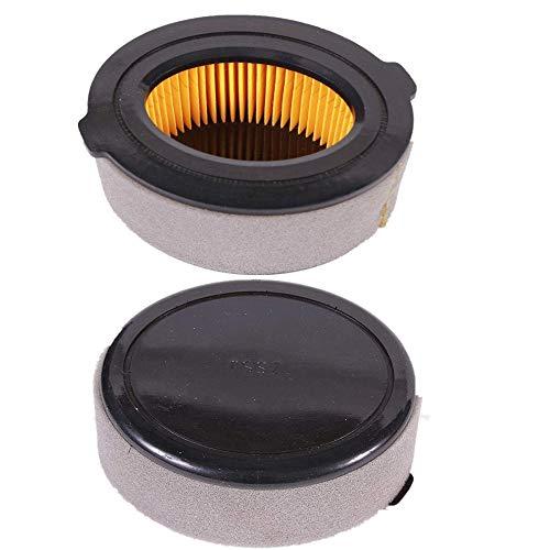 (Euros 2 Pack 951-10794 Air Filter + Pre Cleaner for MTD 951-14262 208cc Troy-Bilt MTD Gold Craftsman Yard-Man Yard Machines Huskee Bolens Tiller)