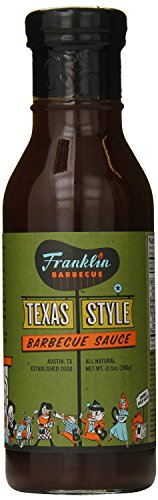 Franklin Barbecue Sauce, Texas Style 12.5 Oz (Pack of 2)