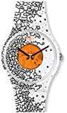 [スウォッチ] 腕時計 ORANGE PUSHER オレンジ・プッシャー New Gent ニュージェント LISTEN TO ME SUOW167 正規輸入品