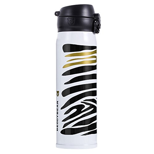 EUTTEUM Travel Mug Office Tea Coffee Water Cup Vacuum Bottle Stainless Steel Thermos Cup
