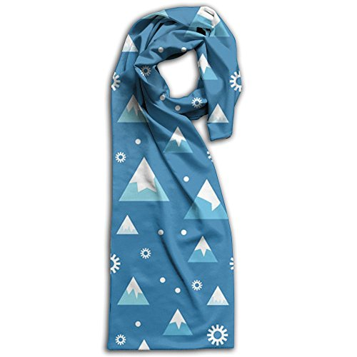 Everest Pattern Mountain Snow Fashion And Beautiful Print Scarf For Women Or Men