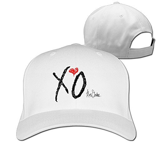 Unisex Plain Adjustable Caps Comfortable The Weeknd Xo Logo Beanies Hats Sports Snapback - Indie Snapbacks