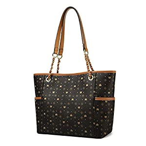 PVC Faux Leather Handbags for Women, Artificial Leather Ladies Top-handle Bags