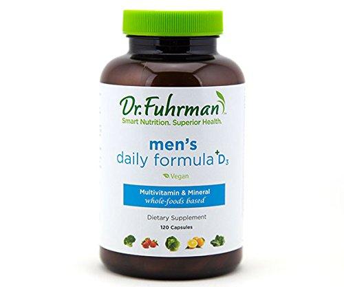 Dr. Fuhrman's Men's Daily Formula +D3 / 120 Capsules
