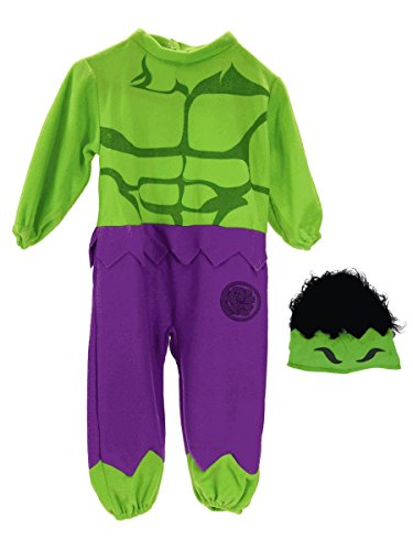 Hulk Boys Toddler Costume Marvel Comics Superhero [Y1Tr 620012]