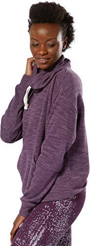 De Cowl White Reebok Course Hoody Women Neck Violet Vêtements M Essentials Marble Training qI0wIPa