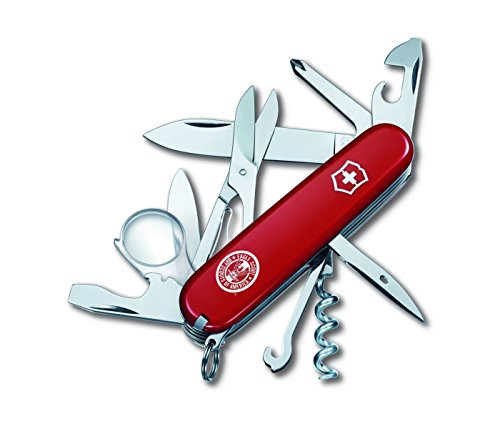 Victorinox Swiss Army 54782 Explorer Eagle Scout Knives, Red, 91mm