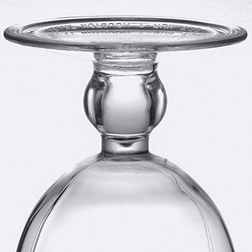 15 oz. Clear Plastic Hurricane Glasses, Break Resistant, Dishwasher Safe, Reusable, GET HUR-1-CL (Qty, 12) by Unknown (Image #2)
