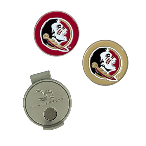 Team Effort Florida State Seminoles Hat Clip & 2 Ball Markers ()