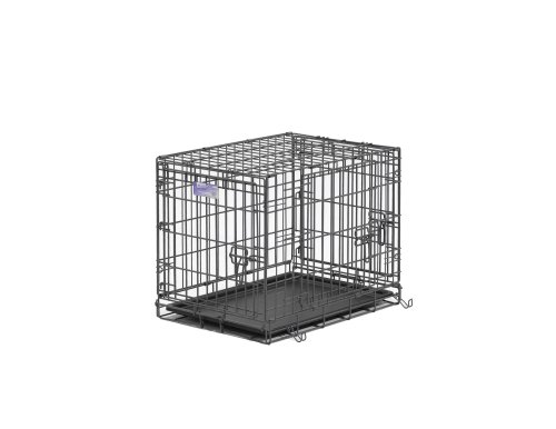 Midwest Select Triple-Door Dog Crate, 24 Inches by 18 Inches by 19 Inches, My Pet Supplies