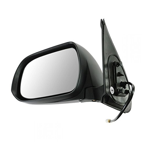 Mirror Power Black Textured Driver Side Left LH for 12-14 Toyota Tacoma ()