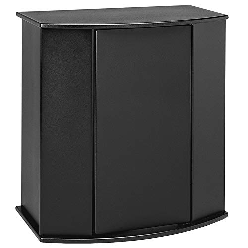 Aquatic Fundamentals Black Bowfront Aquarium Stand - for 26 Gallon Bowfront Aquariums, 16.62 in