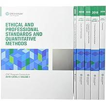 CFA Program Curriculum 2019 Level I Volumes 1-6 Box Set