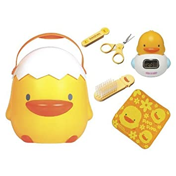 Amazon.com : 6pc bebé perfecto de baño Set de regalo en Big amarillo ...