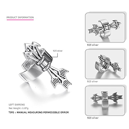 SuperLouisa Fashion Authentic 925 Sterling Silver Earrings And Men Cilp Earrings Casual&Sporty Costume Jewelry left - Ebay Costume Dragon Ball Z