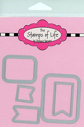 Salt Sampler Die Cuts for Scrapbooking and Card-Making by The Stamps of Life - Patterns and Backgrounds