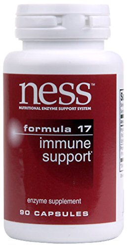 (Ness Enzymes - Immune Support #17 90 caps [Health and)