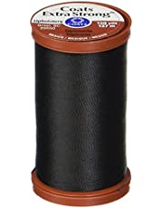 Coats Thread & Zippers S964-0900 and Clark Extra Strong Upholstery, 150-Yard, Black