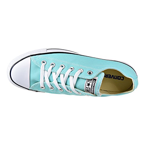 Women's Slip All Converse Taylor Shoes Chuck Textile Shoreline Star Trasparente Acquamarina dwqZf