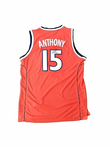 buy popular 361be 1357a Check out Carmelo Anthony Syracuse Orange Autographed Jersey ...