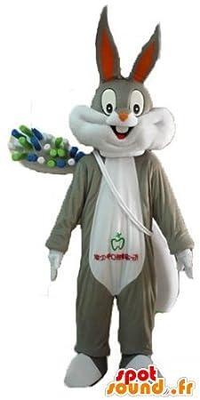 Bugs Bunny de la mascota SpotSound con un cepillo de dientes gigante: Amazon.es: Juguetes y juegos