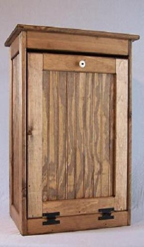 Wooden Tilt-out Trash Bin This Trash Bin Can Be Used for Trash or ...