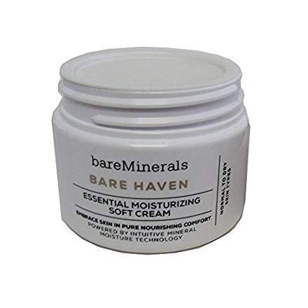 (BareMinerals Bare Haven Essential Moisturizing Soft Cream 1 oz. )