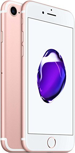 Apple iPhone 7 , Fully Unlocked, 128GB – Rose Gold (Certified Refurbished)