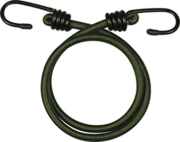"""Olive Green 30/"""" 10 pack Heavy Duty Olive Elastic Military Bungee Cords"""