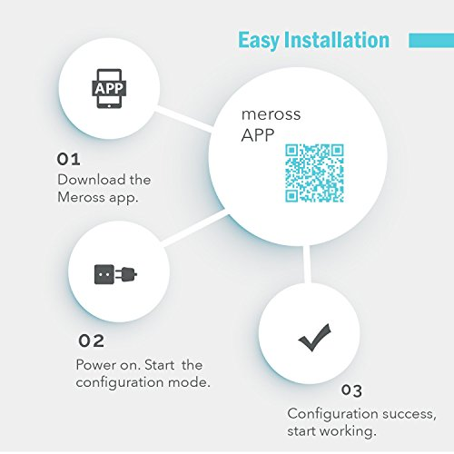 meross MSS620 WiFi Smart Outdoor Plug 2 Grounded Outlets, Plugin Heavy Duty, Remote Control, Timer, Waterproof, Works with Amazon Alexa, Google Assistant and Ifttt, Fcc Certified by meross (Image #8)