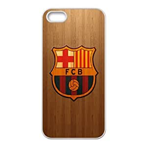 Futbol Club Barcelona V-T-C3026001 Iphone 5,5S Phone Back Case Personalized Art Print Design Hard Shell Protection