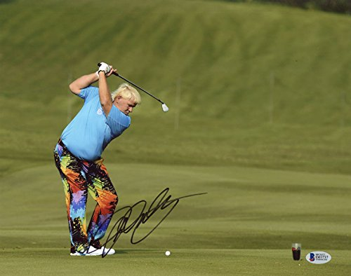John Daly Autographed Golf - 8