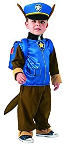 Patrulla Canina - Disfraz Chase para niño, 1-2 años (Rubies 610502-T)