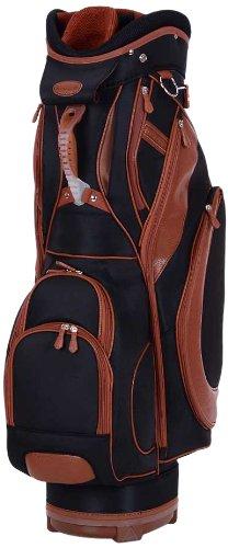 KV Eagle - Bolsa de carro para palos de golf, color negro/marrón: Amazon.es: Deportes y aire libre