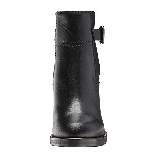 Moda Donna Nero Caviglia Testa Ruvido eur43uk9 5 5 uk Stivali Black Eur Alto Pelle Nvxie Selvaggio Autunno Tondo 37 4 Tacco Inverno Scarpe d5tPwd