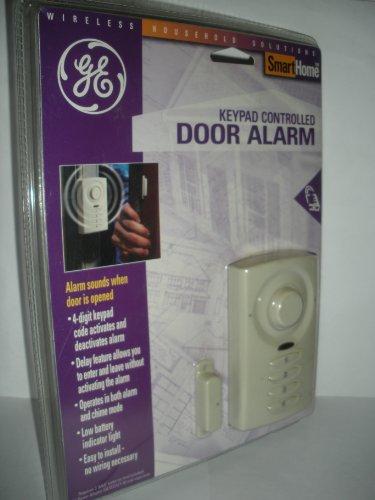 Ge Keypad Controlled Door Alarm