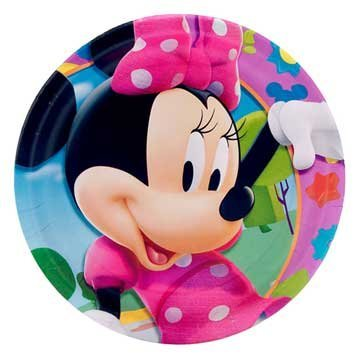 Minnie Mouse Dessert Plates 8ct -